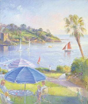 Shades and Sails, 1992 Festmény reprodukció
