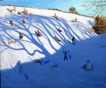 Shadows on a hill, Monyash Festmény reprodukció