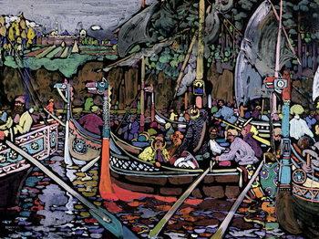 Song of the Volga, 1906 Festmény reprodukció