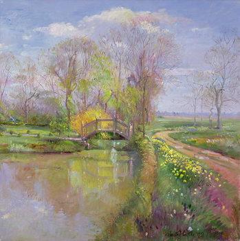 Spring Bridge, 1992 Festmény reprodukció