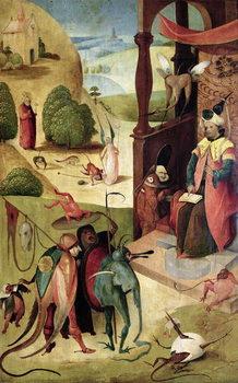 St.James and the Magician Festmény reprodukció