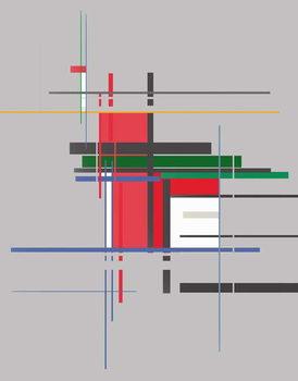 structure,2016, Festmény reprodukció