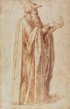 Study of a Man Festmény reprodukció