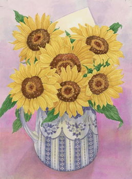 Sunflowers, 1998 Festmény reprodukció