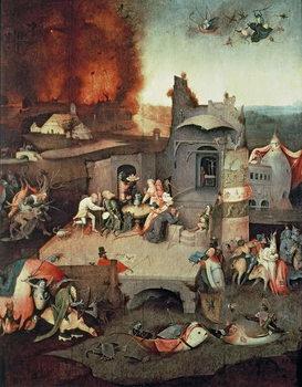 Temptation of Saint Anthony, c.1500 Festmény reprodukció