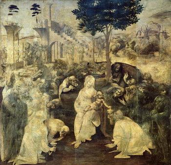 The Adoration of the Magi, 1481-2 Festmény reprodukció