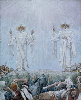 The Ascension, illustration for 'The Life of Christ', c.1884-96 Festmény reprodukció