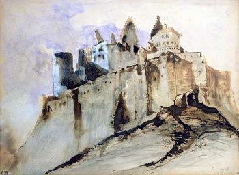 The Chateau of Vianden, 1871 Festmény reprodukció