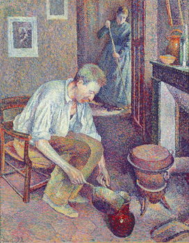 The Coffee, 1892 Festmény reprodukció