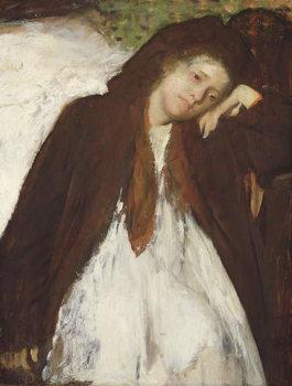 The Convalescent, c.1872-87 Festmény reprodukció