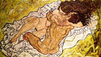 The Embrace, 1917 Festmény reprodukció