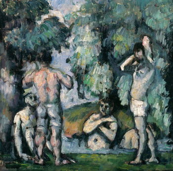 The Five Bathers, c.1875-77 Festmény reprodukció