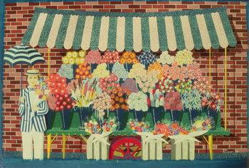 The Flower Man Festmény reprodukció