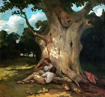 The Large Oak Festmény reprodukció