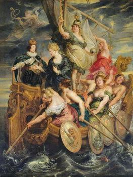 The Majority of Louis XIII (1601-43) 20th October 1614, 1621-25 Festmény reprodukció
