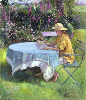 The Morning Read, 1992 Festmény reprodukció