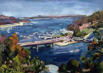 The Sydney Split, 1995 Festmény reprodukció