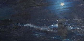 The Tell tale Moon, 1995, Festmény reprodukció