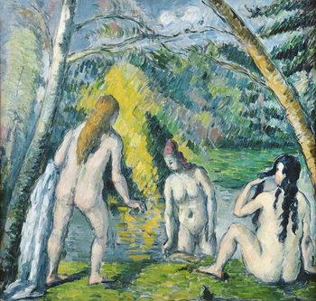 The Three Bathers, c.1879-82 Festmény reprodukció