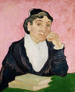 The woman from Arles, 1890 Festmény reprodukció