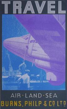 Travel: Air, Land Sea Festmény reprodukció