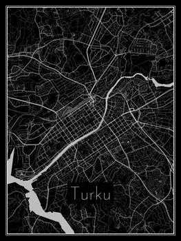 Turku térképe