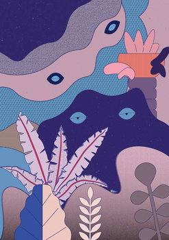 unconscious Mind, 2018, Festmény reprodukció