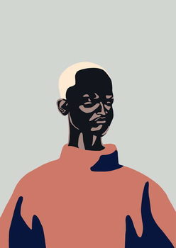 Untitled Portrait, 2016, Festmény reprodukció