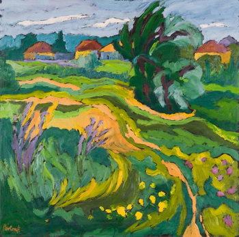 Village End, 2006 Festmény reprodukció