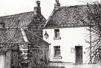 W.M.Barrie's birthplace, 2007, Festmény reprodukció
