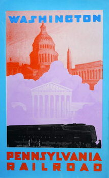 Washington DC Festmény reprodukció