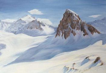 Alpine Shadows, 2000 Festmény reprodukció