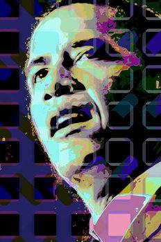 Barack Obama Festmény reprodukció
