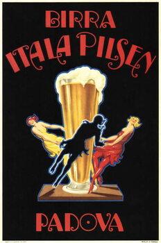 Birra Itala Pilsen Festmény reprodukció