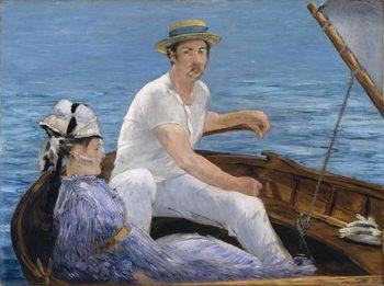Boating, 1874 Festmény reprodukció