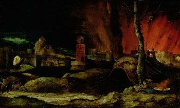 Christ in Limbo Festmény reprodukció