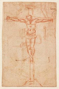Christ on the Cross Festmény reprodukció