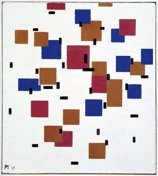 Composition in Colour A, 1917 Festmény reprodukció