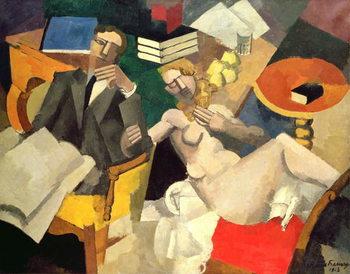 Conjugal Life, 1913 Festmény reprodukció