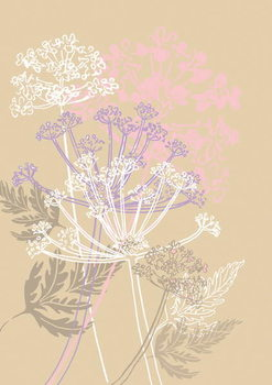 Cow Parsley, 2013 Festmény reprodukció