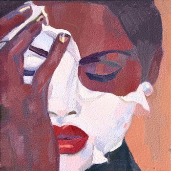 'Face 1', 2012, Festmény reprodukció