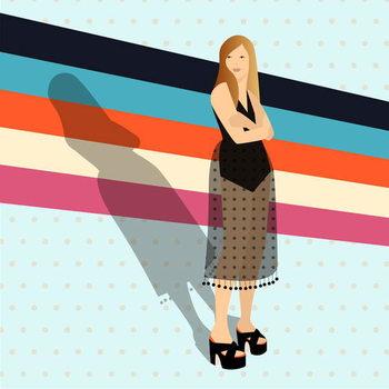 Fashion Stripes Festmény reprodukció