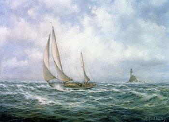 Fastnet Abeam Festmény reprodukció