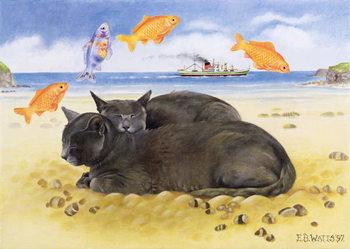 Fish Dreams, 1997 Festmény reprodukció