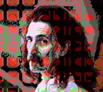 Frank Zappa Festmény reprodukció
