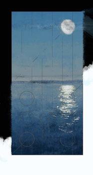 Genesis Day 2: Waters, 2014, digital painting Festmény reprodukció