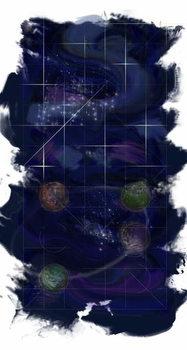 Genesis Day 4: Stars, 2014, Festmény reprodukció