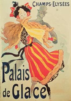 'Ice Palace', Champs Elysees, Paris, 1893 Festmény reprodukció
