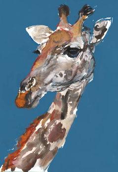 Lady Giraffe, 2018, Festmény reprodukció