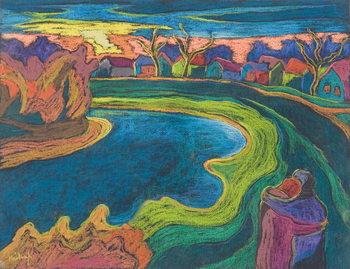 Late Rendezvous, 2006 Festmény reprodukció